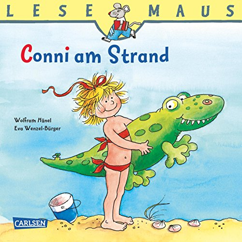 lesemaus-conni-am-strand-german-edition