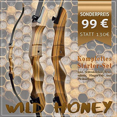 [SPECIAL] SET Wild Honey - Take Down - Recurvebogen | 64 Zoll Rechtshand