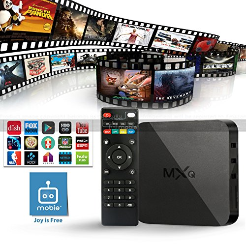 Mobie MXQ Quad Core Speed Android TV Box KODI XBMC Sports