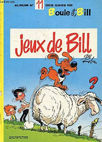 Album de Boule & Bill, Tome 11 : Jeux de Bill