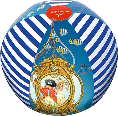Balón pelota de agua hinchable Capt'n Sharky Diametro aprox. 33 cm Fondo...