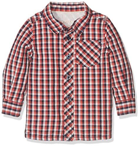 ESPRIT Baby - Jungen Hemd Gr. 74, rot
