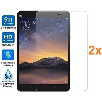 """Pack 2X Pellicola salvaschermo per XIAOMI MIPAD 3 7.9"""" / XIAOMI Mi Pad 3 7.9"""", Vetro temperato, di qualità Premium Tablet, Elettronica Rey®"""