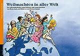 Weihnachten in aller Welt: Ein Adventskalender zum Vorlesen und Ausschneiden