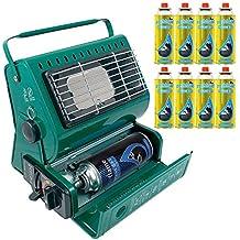 Calefactor de gas portátil para exterior, ideal para pesca y camping, 1,3