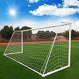 Amazingdeal365 Fußball-Tornetz, für Garten mit für Fußballtor Stadion Standard-Fußballtor-Netz (2*1.5M)
