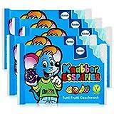 Küchle Knabber Esspapier blau Tutti Frutti Geschmack 25g Essoblaten (5er Pack)