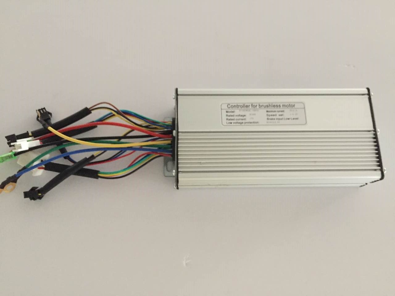 61SwFbQpHBL - NBPOWER 48V 1500W 35A Brushless DC Motor Controller Ebike Controller +KT-LCD3 Display One Set,used f