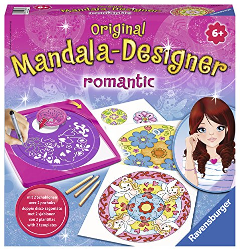 Ravensburger Original Mandala Designer 29871 - Romantic 2-in-1 Midi