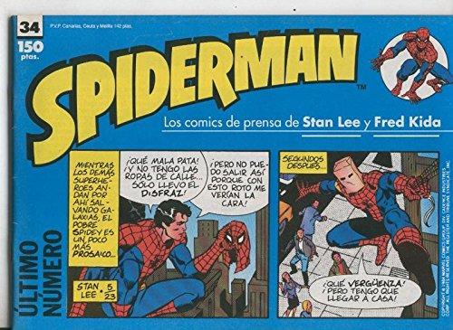 Spiderman tiras de prensa numero 34