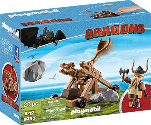 Playmobil 9245 - Grobian Mit Katapult