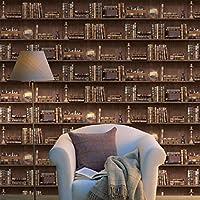 Holden K2 Vintage Books Natural Wallpaper 11950 - Bookcase Shelf Library Study by Holden Decor