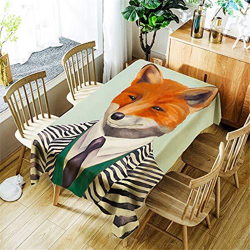 QWEASDZX Tischdecke Nationaler Stil Digitaldruck Retro Tischdecke Wiederverwendbar Antifouling-Tischdecke Geeignet für den Innen- und Außenbereich Party tischdecken 140x140cm