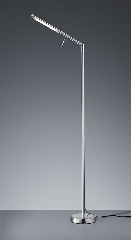Trio Leuchten LED-Stehleuchte Filigran, nickel matt 420490107 ...