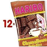 Haribo Chamallow Soft-Kiss 12 x 175g Packung (Schaumzucker-Marshmallow in Schokolade getränkt)