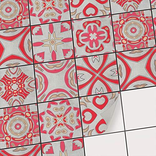 Decorazione piastrelle cucina | Foglio adesivo per piastrelle ...