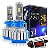Picture Of Win Power LED Headlight Bulbs All-in-One Conversion Kit - H7 -7,200Lm 70W 6000K Cool White CREE - Pack of 2