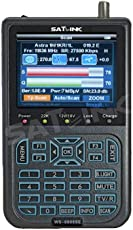SATLINK WS 6908SE Profi Satfinder DVB-S FTA TFT 8,9cm Sat Messgerät DVBS Digital [video und manual a