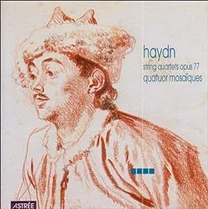 Haydn : Quatuor à cordes op. 77