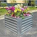 Gabiona | Hochbeet aus Blech | eckiges Hochbeet bepflanzen | Kräuterhochbeet | Gemüsehochbeet | prachtvolles Blumenhochbeet von Gabiona bei Du und dein Garten