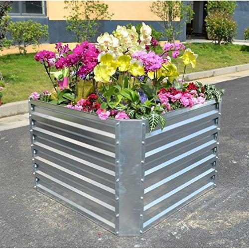 GABIONA Hochbeete für Balkon und Garten I Terrassenhochbeet Blumentopf I Hochbeet Frühbeet
