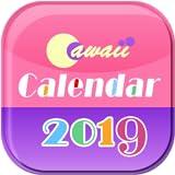 Cawaii Calendario 2019 per Fire tablet