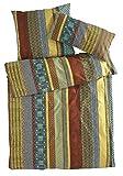 hessnatur Renforcé-Bettwäsche Malawi aus Reiner Bio-Baumwolle Gemustert 135x200+80x80 cm