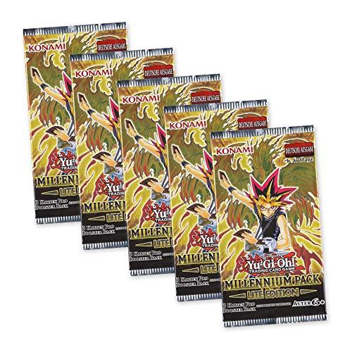 Yu-Gi-Oh! Millennium Pack Lite Edition 5 Booster Packungen - 1. Auflage deutsche Ausgabe