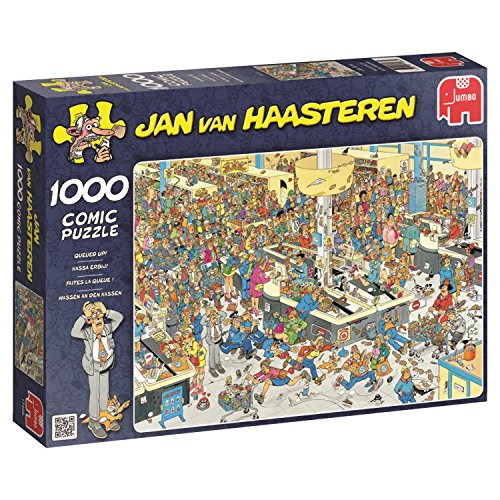 Jumbo - Puzzle Queued Up!! 1000 Piezas (617466)