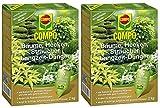 Oleanderhof® Sparset: 2 x COMPO Bäume, Hecken, Sträucher Langzeit-Dünger, 2 kg + gratis Oleanderhof Flyer