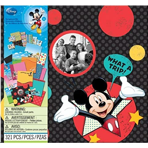 Disney Vacation Scrapbook Kit 12X12 1 pcs sku# 1172381MA by JOLEES - Disney Scrapbook Kit