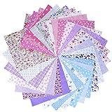 30 Pièces 25 * 25 cm Tissu Patchwork Coton Mixtes Coupon Tissu