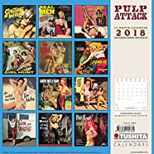 Pulp Attack 2018: Kalender 2018 (Media Illustration)