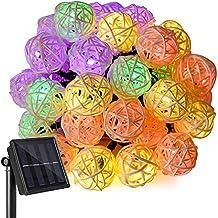 Ankway solares LED luces de Navidad Luces de Navidad de la rota 20FT 30 LEDs - Por otra parte, multicolor
