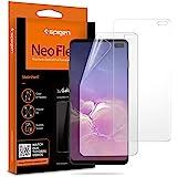 Spigen, 2Pezzi, Pellicola Compatible con Galaxy S10 Plus, NeoFlex, Compatibile con Il sensore a ultrasuoni, TPU, Non Vetro, C