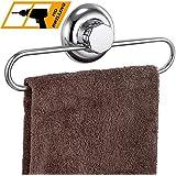 MaxHold système de vide Porte-serviettes à ventouses - adhérer, pas de perçage - acier inoxydable - pour salle de bains et cuisine