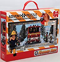 Fireman Sam Giant Advent Calendar Jigsaw Puzzle (24 Pieces)