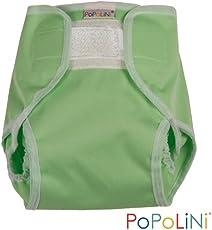 Popolini PopoWrap Überhose Lime Klettverschluss Gr. S = 3-6 Kg