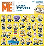 Disney Frozen / Minions Sticker Set 22 Supersticker Lasersticker Tattoo Wandtattoo Die Eiskönigin (Minions)