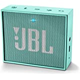 JBL Go - Altavoz portátil para smartphones, tablets y dispositivos MP3 (Bluetooth, recargable, entrada AUX), color cerceta