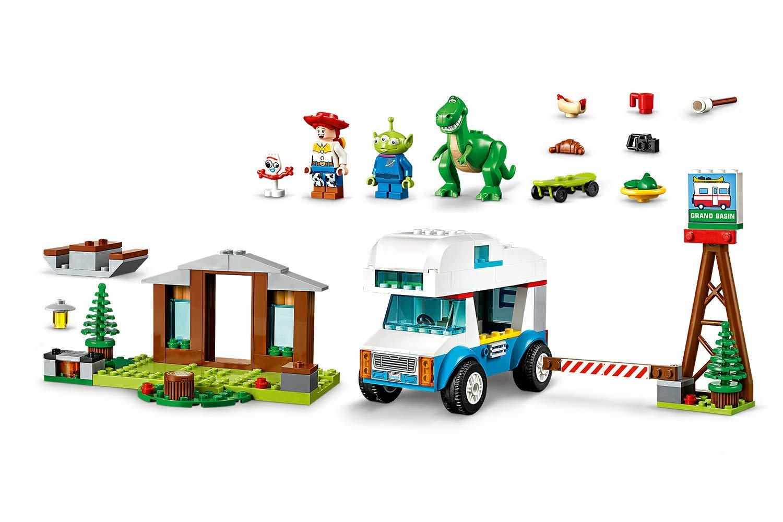 LEGO Juniors Toy Story 4 Vacanza in Camper, Gioco per Bambini, Multicolore, 282 x 262 x 76 mm, 10769 5 spesavip
