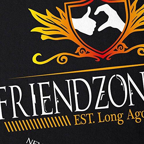 CottonCloud Friend Zone Herren T-Shirt Beste Freunde Bro Brother Brotherhood Schwarz