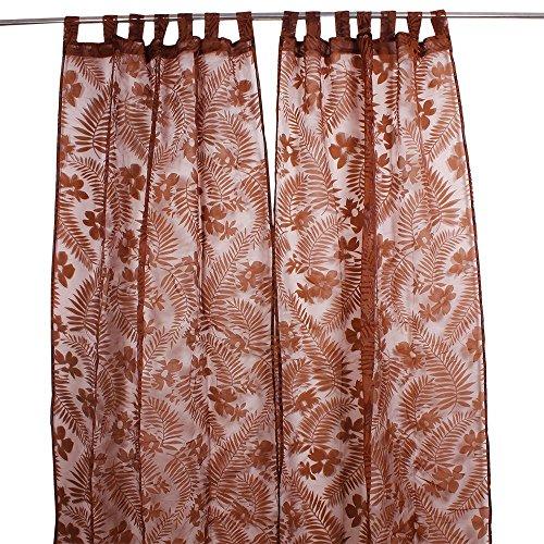 Natale Regali del Ringraziamento tenda di portello tendaggi tessuti a mano in poliestere trasparente con belle stampe di Soggiorno Camera da letto per la casa Accenti