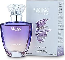 Skinn by Titan Sheer Perfume for Women, 50ml