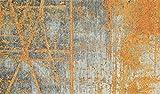 Wash&Dry 087625 Rustic Fußmatte, Acryl, Orange, 70 x 120 x 0.9 cm