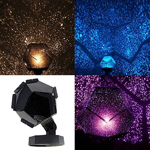 Lights & Lighting 2017 New!romantic Planetarium Star Celestial Projector Cosmos Light Night Sky Lamp New