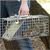 Havahart Lebendfalle, 1-türige Easy Set Käfigfalle für Ratten und Eichhörnchen