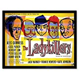 Wee Blue Coo Movie Film Ladykillers Crime Comedy Guinness Sellers Howerd UK Wall Art...