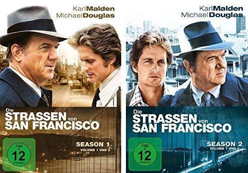 Preisvergleich Produktbild Die Straßen von San Francisco - Season 1+2 im Set - Deutsche Originalware [14 DVDs]