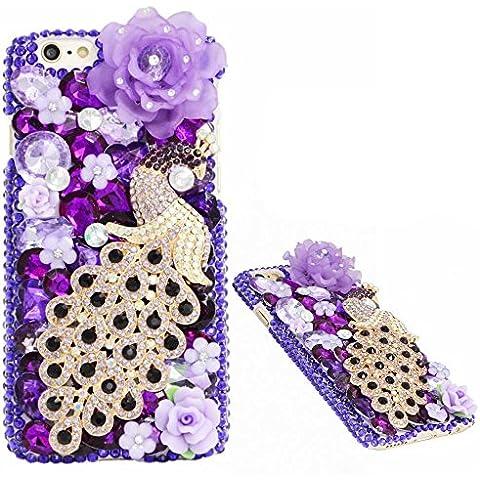 Spritech (TM) 3d Bling Diseño de diamantes de imitación carcasa rígida para iPhone 65.5, Style-7, iphone 6 5.5
